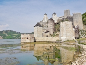 From traveler's perspective: Djerdap, on the beautiful blue Danube